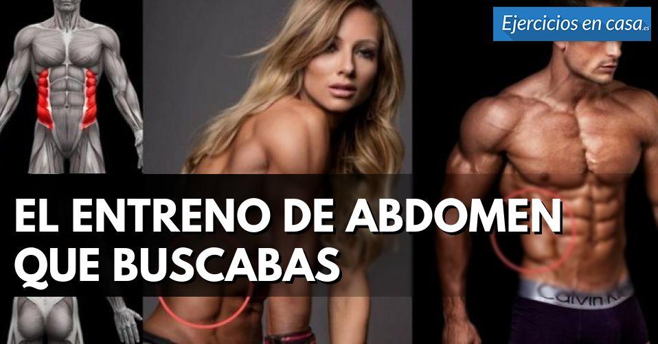 Rutina de entrenamiento casero para tu abdomen