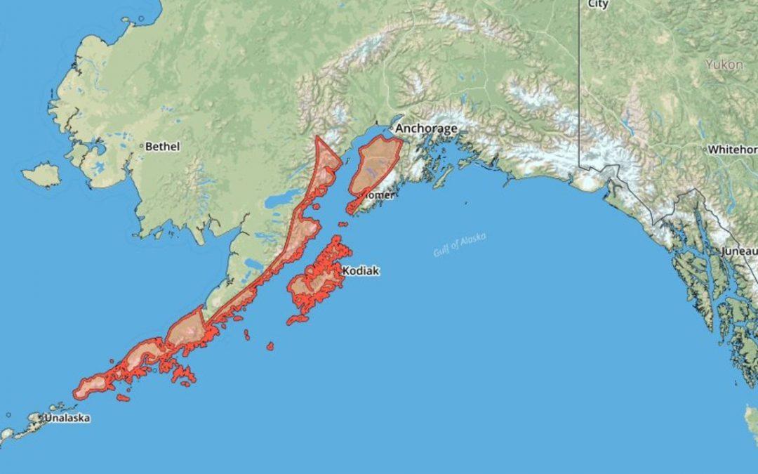 Emiten alerta de tsunami en Alaska tras sismo magnitud 7.5