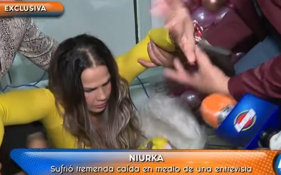 caída de Niurka