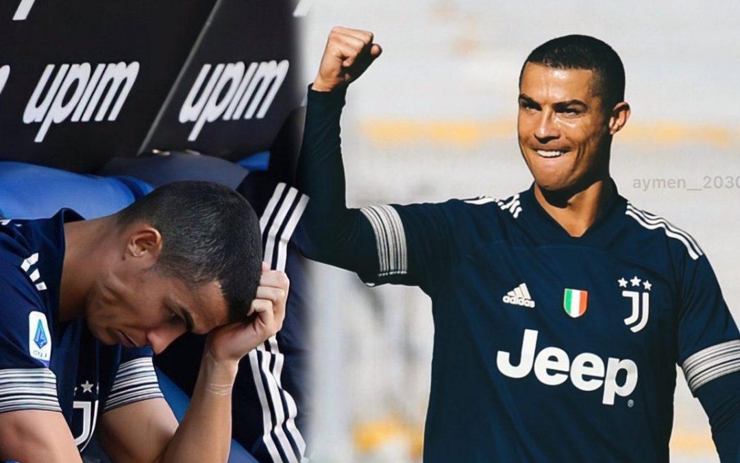 La razón por la que Cristiano tuvo que abandonar el juego ante Lazio