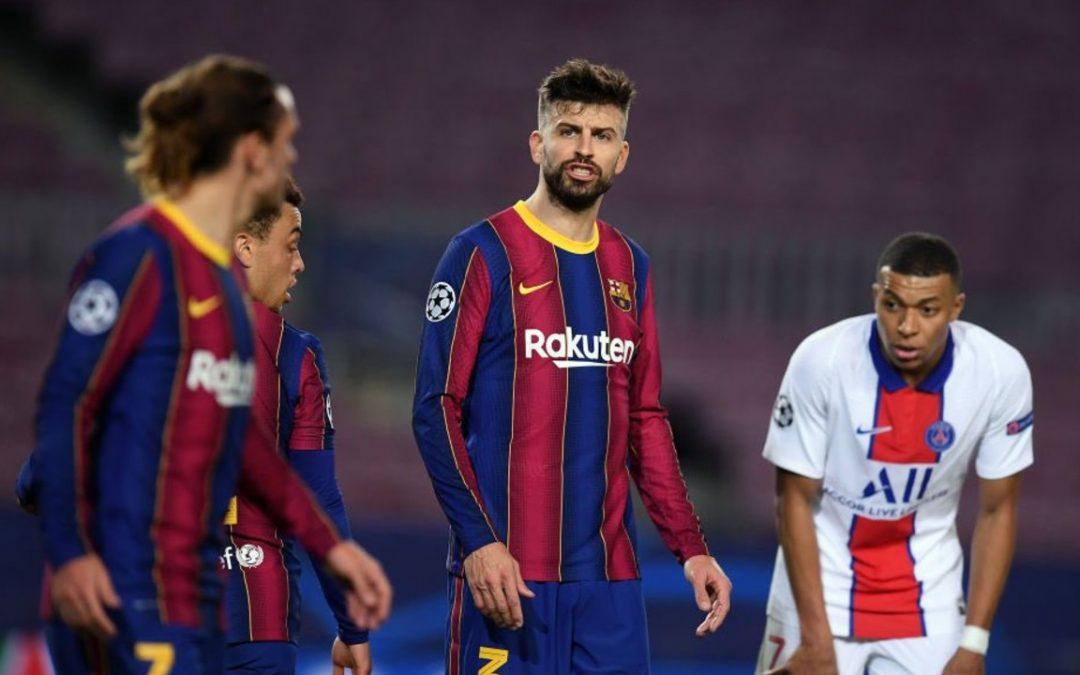 La pelea entre Piqué y Griezmann que se escuchó en todo el Camp Nou