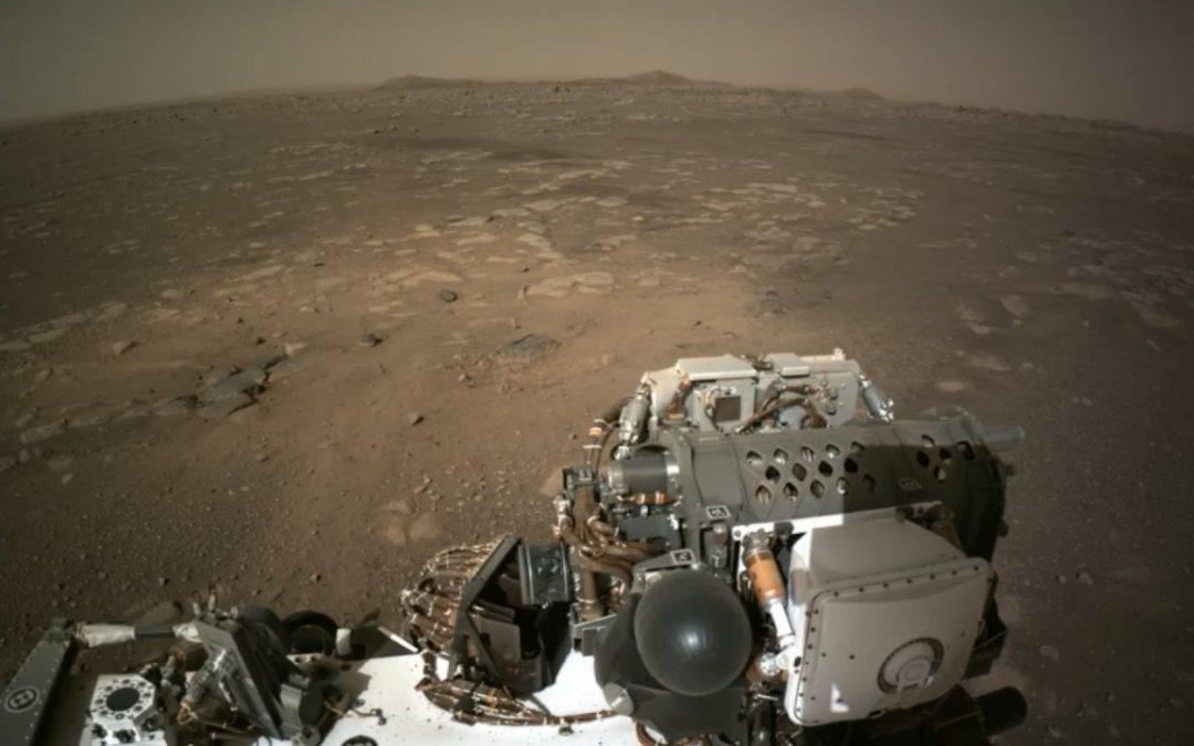 Marte se ve así. Nuevas imágenes enviadas por Perseverance