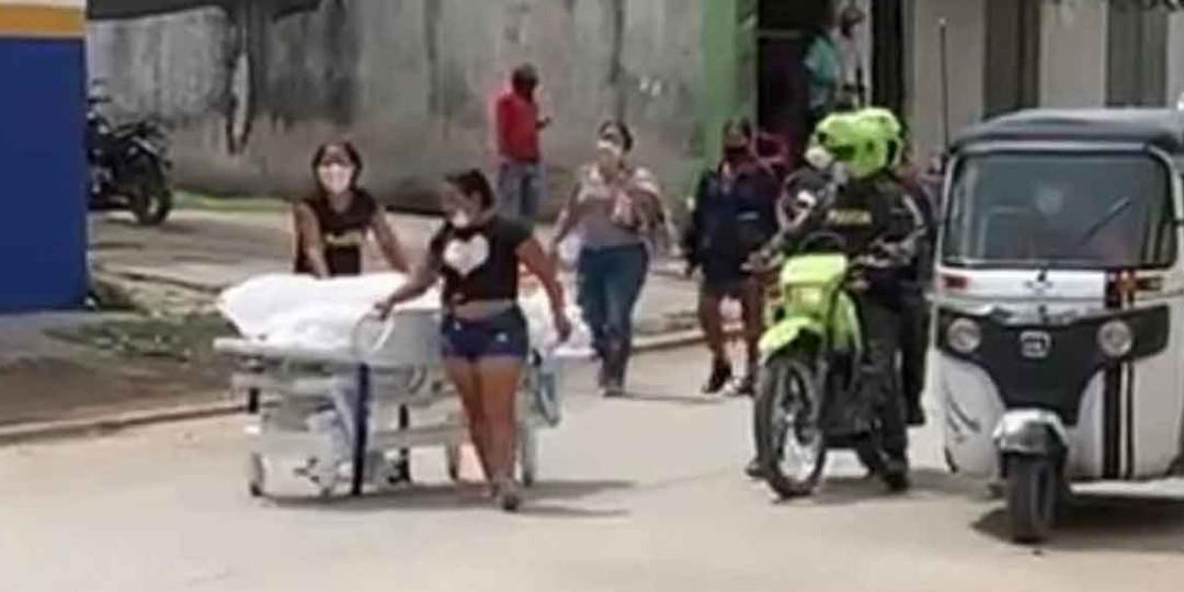 Familiares se «roban» de hospital cuerpo de paciente muerto por Covid-19