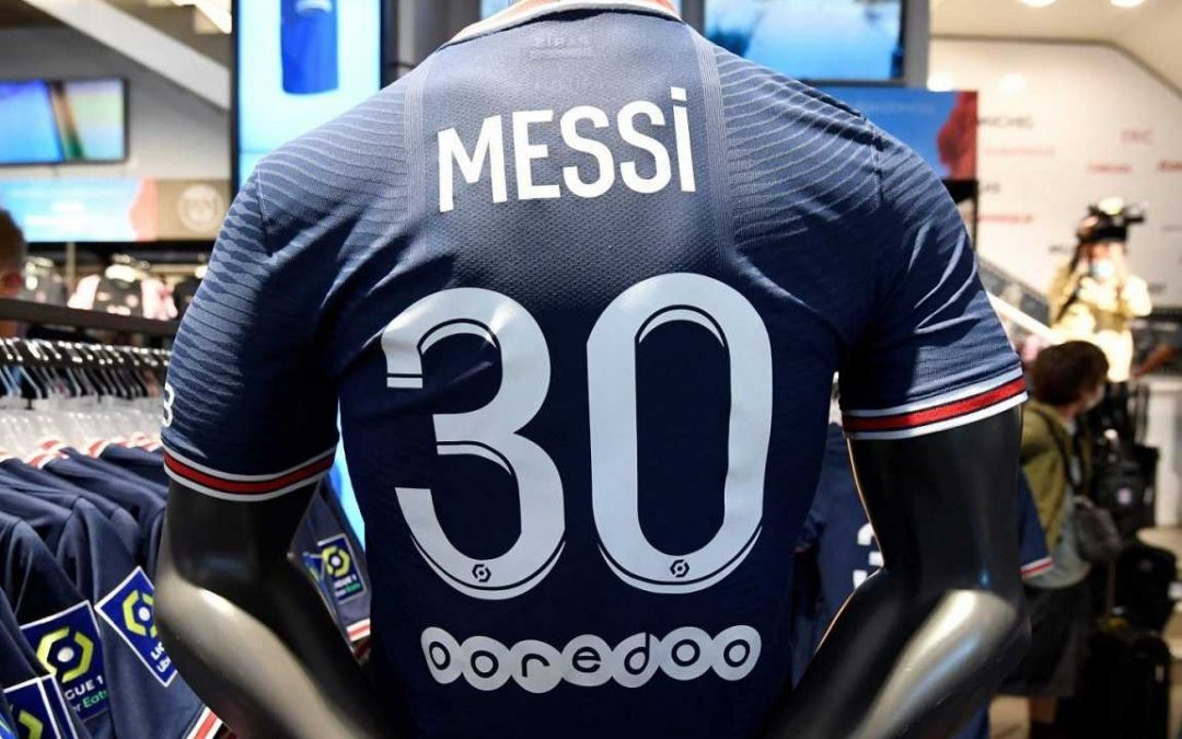 ¿Cuántas camisetas de Messi ya vendió el PSG?